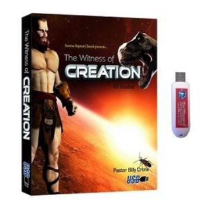 The Witness of Creation USB Flash Drive