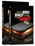Did The Bible Really Come From God Book and DVD Combo