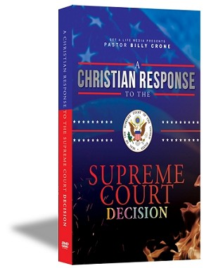 A Christian Response to the Supreme Court Decision